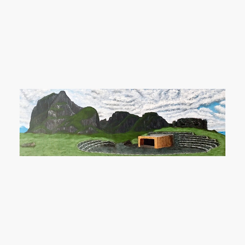 Lofoten Landscape - Eggum, Norway Photographic Print