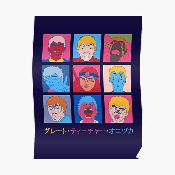GTO Onizuka fait face Poster