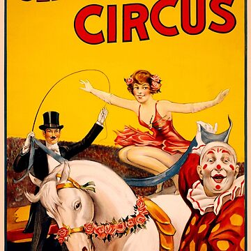 Circus Poster by BillyBernie