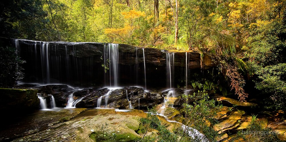 Autumn Fall - Somersby Falls by hangingpixels