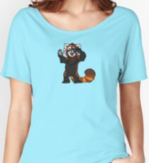 Red Panda Photographer - Alternate Shirts Women's Relaxed Fit T-Shirt