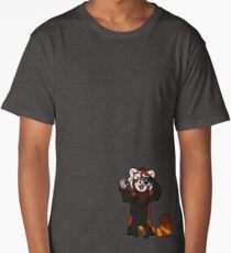 Red Panda Photographer - Alternate Shirts Long T-Shirt