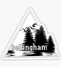 Bellingham Proud! Sticker