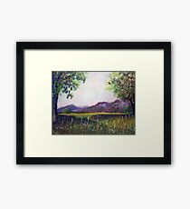 Spring on Ranchland, New Mexico Framed Print