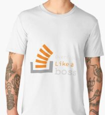 Overflowing like a boss Men's Premium T-Shirt