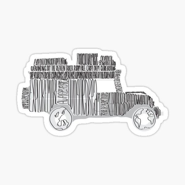 Artsy Sketchy Sticker