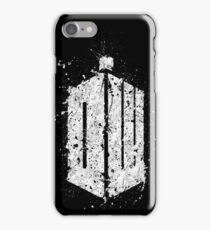 Doctor Who Splatter iPhone Case/Skin