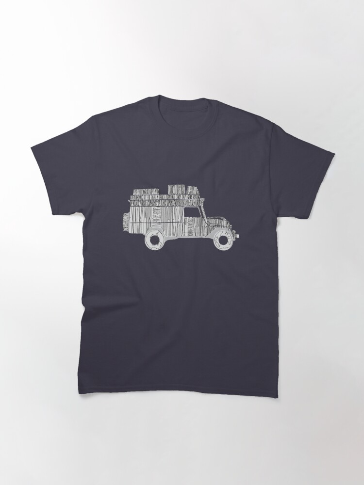 Alternate view of Artsy Sketchy Classic T-Shirt