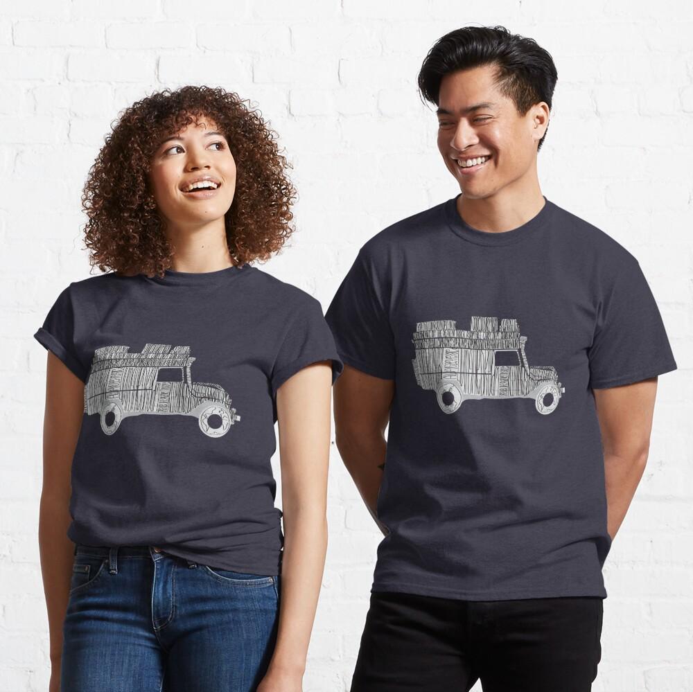 Artsy Sketchy Classic T-Shirt