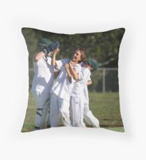...what sport is about.....FUN...... Throw Pillow
