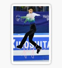 FLY with yuzuru Sticker