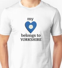 My heart belongs to Yorkshire Unisex T-Shirt