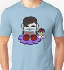 STPC: Flex & TaTa O'BOT Toy Robots (Wine and Bottle) Slim Fit T-Shirt