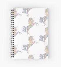 Iridescent Unicorn Spiral Notebook