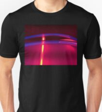 Neon Red Blue Yellow Unisex T-Shirt