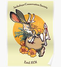 Jackalope Poster