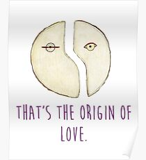 The Origin Of Love Poster