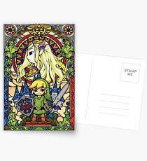 Zelda & Link Postcards