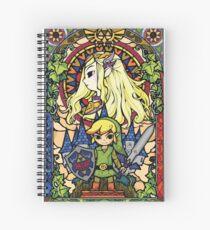 Cuaderno de espiral Zelda y enlace