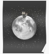 Lost in a Space / Moonelsh Poster