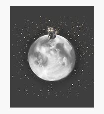 Lost in a Space / Moonelsh Photographic Print