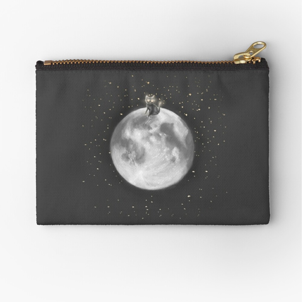 Lost in a Space / Moonelsh Zipper Pouch