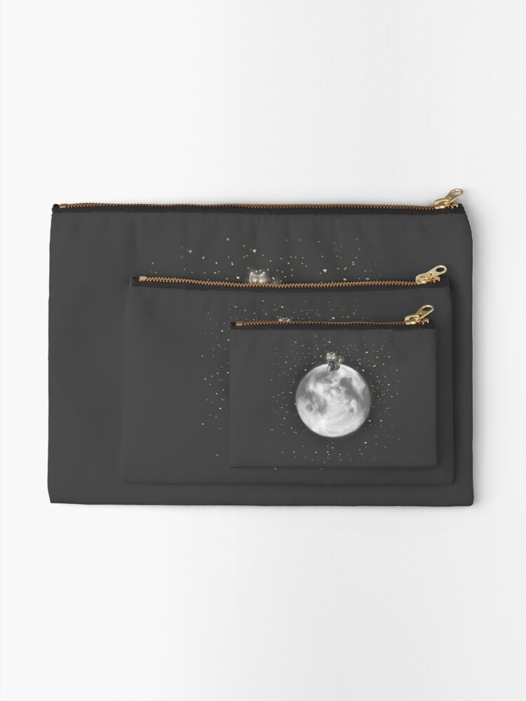 Alternate view of Lost in a Space / Moonelsh Zipper Pouch