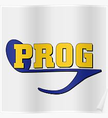 Prog (progressive rock music) Poster