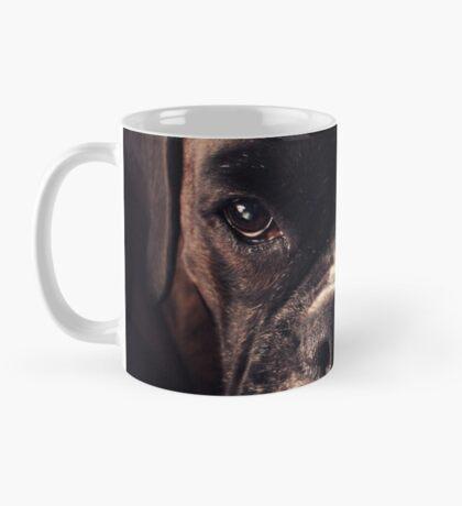 Porträt eines weiblichen Boxers - Boxer Dogs Series Tasse
