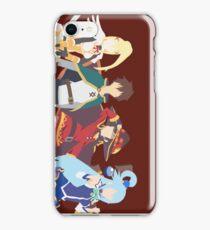 Konosuba Squad iPhone Case/Skin