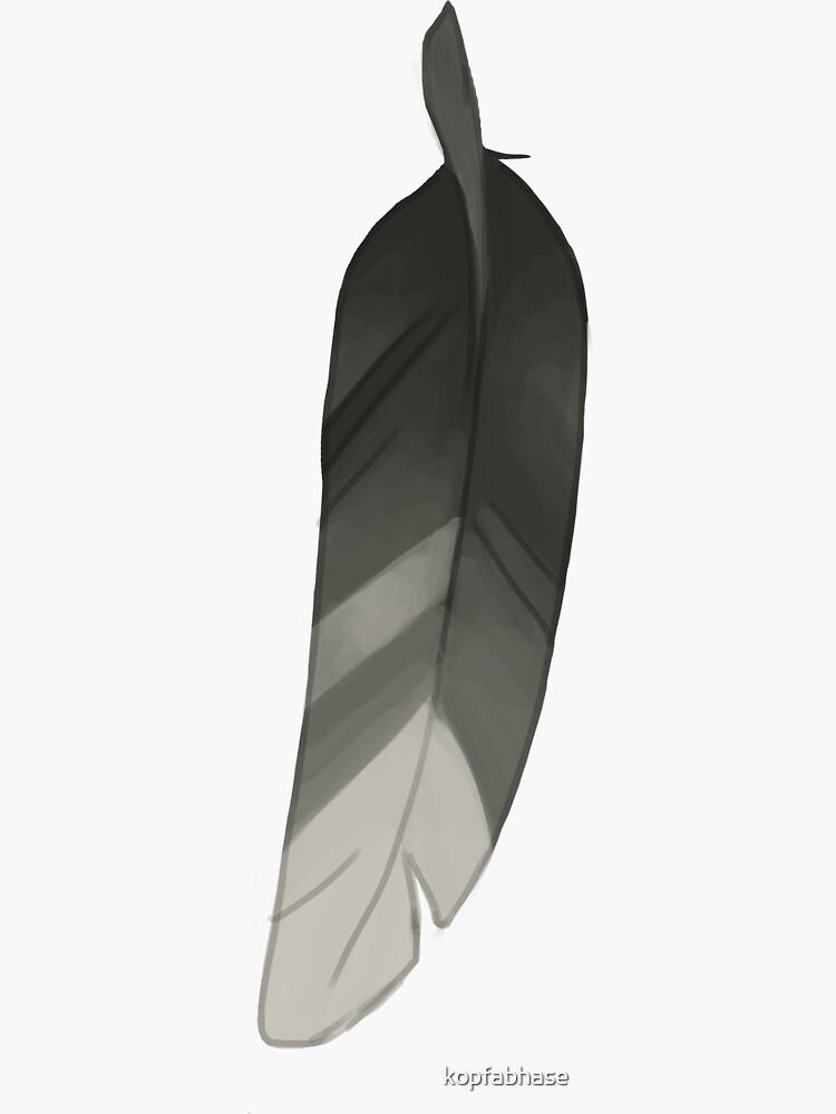 Pluma gris de kopfabhase