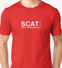 Scat Singing (Jazz Stuff) Unisex T-Shirt