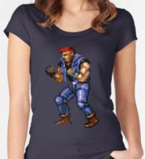 Galsia from Streets of Rage 2 Women's Fitted Scoop T-Shirt