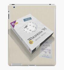 Wikipedia 95 iPad Case/Skin