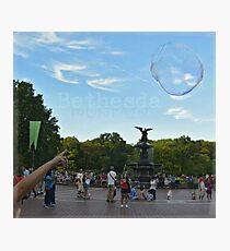 Bethesda Fountain Photographic Print