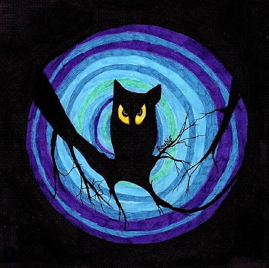 time for child stories: the EVIL OWL by ROUBLE RUST