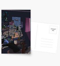 Conspiracy Theorist Postcards