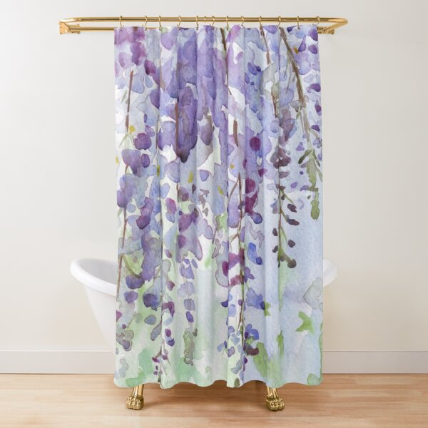 The Wisteria's scent Shower Curtain