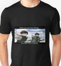 guy sensei and rock lee T-Shirt