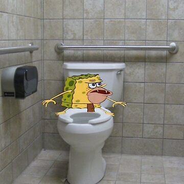 Primitive Spongebob by yaminnoodles