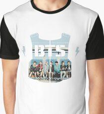 BTS - Logo Bus Stop Graphic T-Shirt