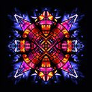Stained Glass Chaos II by ifourdezign
