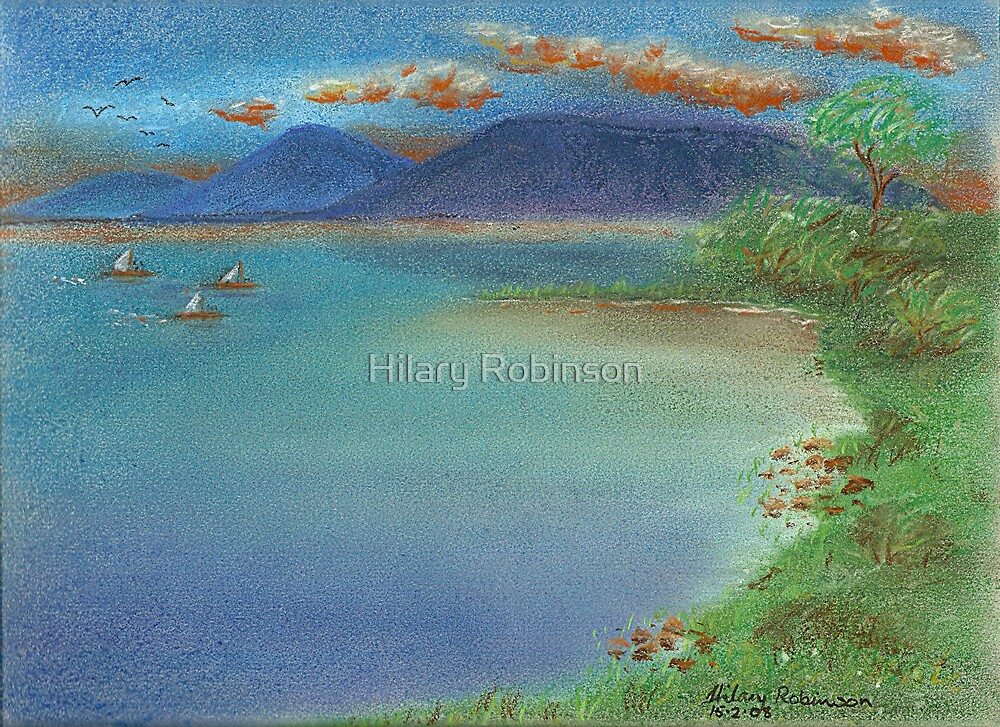 Shrimp Boats Are A-Coming by Hilary Robinson