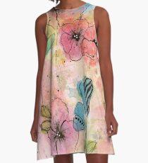 Wild Garden A-Line Dress