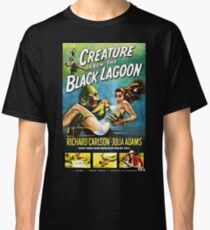 Creature from the Black Lagoon - vintage horror movie poster Classic T-Shirt