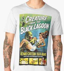 Creature from the Black Lagoon - vintage horror movie poster Men's Premium T-Shirt