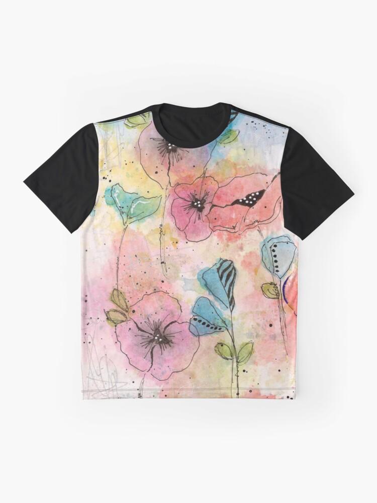 Alternate view of Wild Garden Graphic T-Shirt
