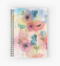 Wild Garden Spiral Notebook
