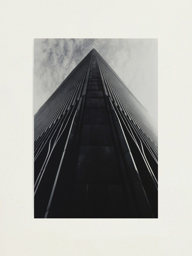 Alternate view of On a Knife Edge Photographic Print