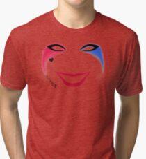 Harlequin Make-Up Tri-blend T-Shirt